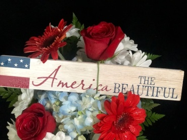 Star Spangled Bouquet & Gift