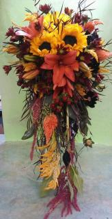 Vivacious Bridal Bouquet