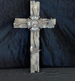 Fire Dept Cross