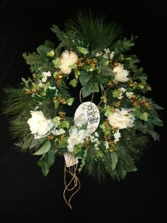 Oh Holy Night Wreath
