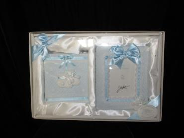 Baby Boy Photo Album and Frame