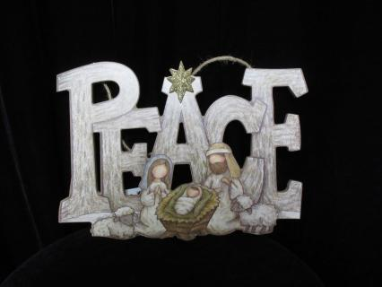 Peace Wall Hanging Ornament