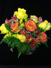 Sunny Magic Rose Bouquet
