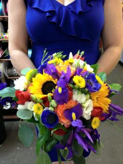 Sunflower Bliss Bridal Bouquet