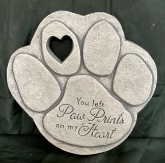 Pawpreint Pet Memorial Stepping Stone
