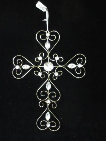 15 Inch Metal Cross