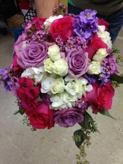 Pinks and Purple Bouquet