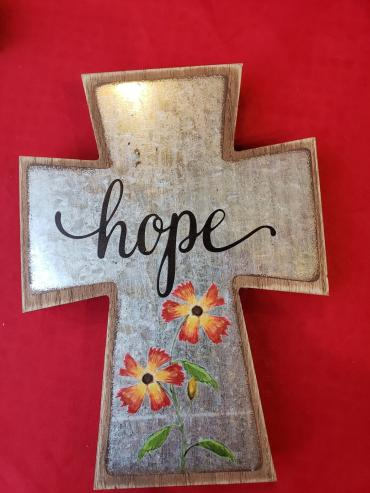 Wildflower Hope Cross