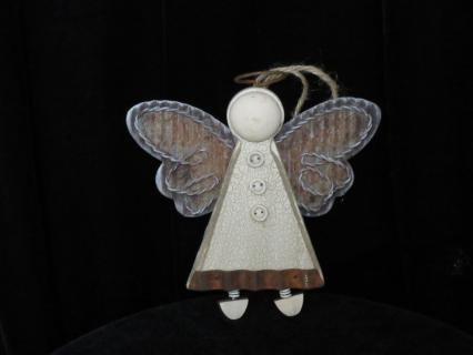 Rustic Angel Ornament