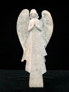 Large Angel with silver sheen