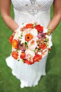 Orange Blossoms Bouquet