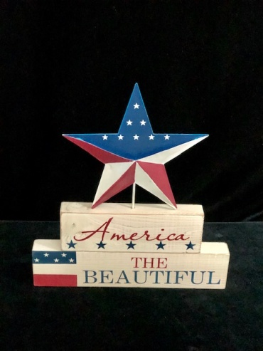 America the Beautiful Wall Art