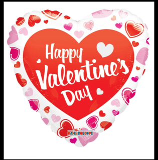 Valentine\'s Day Mylar Balloon