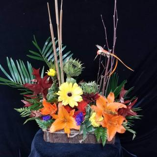 Wooded Treasure Centerpiece