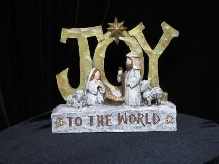 Joy Shelf Plaque