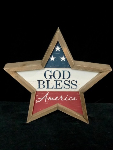God Bless America Star