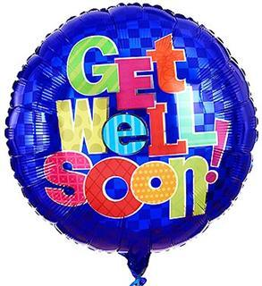 Get Well Soon! Mylar Balloon