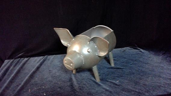 Artillery Shell Piggy Planter