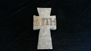 Faith Stone Cross