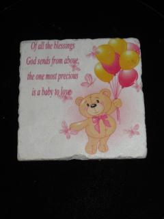 A Baby To Love Plaque