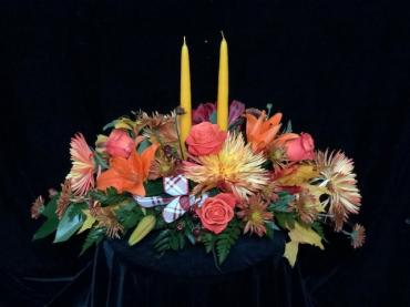 Grateful Gatherings Centerpiece